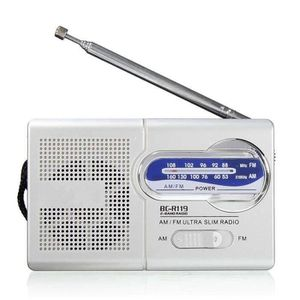RADIO CD CASSETTE Radio AM-FM batterie non incluse Portable BC R119