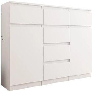 COMMODE DE CHAMBRE MONACO | Commode contemporaine meuble rangement ch