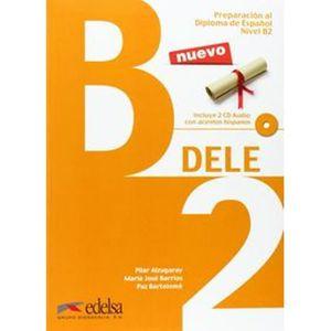 BATTERIE VÉHICULE Livre en espagnol -D.e.l.e.(b2).alumno (+cd)