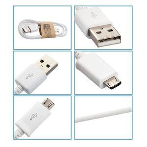 AUTRE PERIPHERIQUE USB  Blanc 5pcs Câble Micro USB Cable Chargeur Smartpho