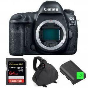 PACK APPAREIL RÉFLEX Canon EOS 5D Mark IV Nu + SanDisk 64GB Extreme PRO