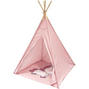 TENTE TUNNEL D'ACTIVITÉ Tipi enfant Licorne Rose The Home Deco Factory