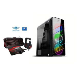 UNITÉ CENTRALE  Pc Gamer Deathmatch 7 RVB AMD Ryzen 7 1700X  - nVI