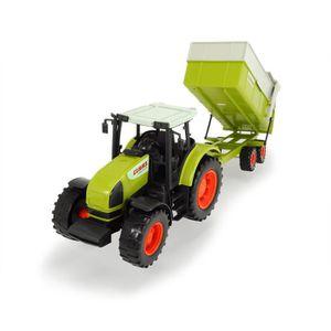 KIT MODÉLISME Dickie Toys 203739000 - Tracteur - Claas Ares J0GD
