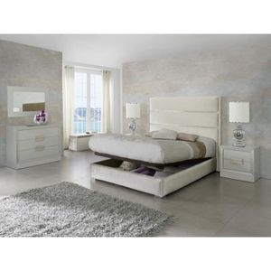 lit king size achat vente lit king size pas cher cdiscount. Black Bedroom Furniture Sets. Home Design Ideas