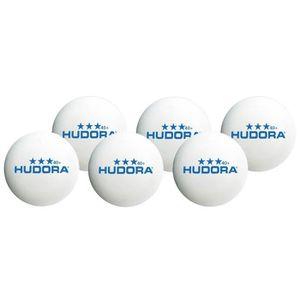 BALLE TENNIS DE TABLE HUDORA  Set de 6 Balles de Tennis de Table
