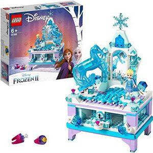 ASSEMBLAGE CONSTRUCTION LEGO®-Disney PrincessTM La boîte à bijoux d'Elsa