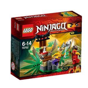 ASSEMBLAGE CONSTRUCTION LEGO Ninjago 70752 Le Piège dans la Jungle