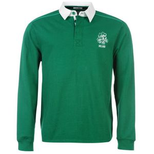 SWEAT-SHIRT DE RUGBY Polo manches longues homme IRLANDE