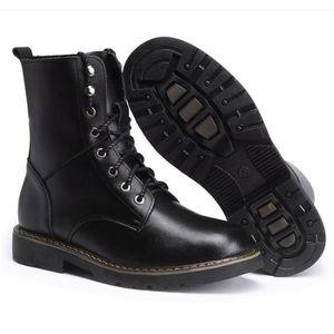 BOTTE Martin bottes chaussure homme hiver plus velours