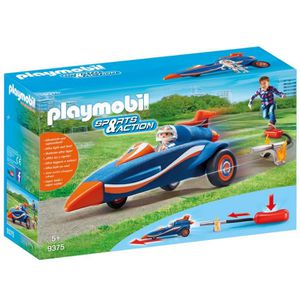 ASSEMBLAGE CONSTRUCTION Playmobil Sports & Action 9375 Pilote et voiture f