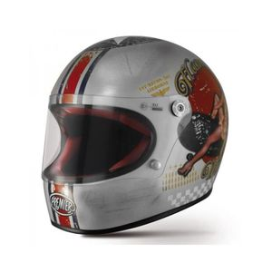 CASQUE MOTO SCOOTER PREMIER CASQUE INTEGRAL TROPHY PIN UP OLD STYLE SI