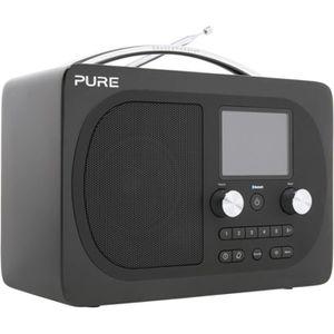 Radio réveil Radio numérique Pure Evoke H4 noire Edition Presti