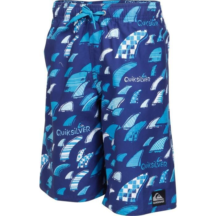 QUIKSILVER Boardshort garçon Fins Party Youth - Bleu