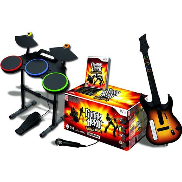 Guitar Hero Cheats World Tour Wii