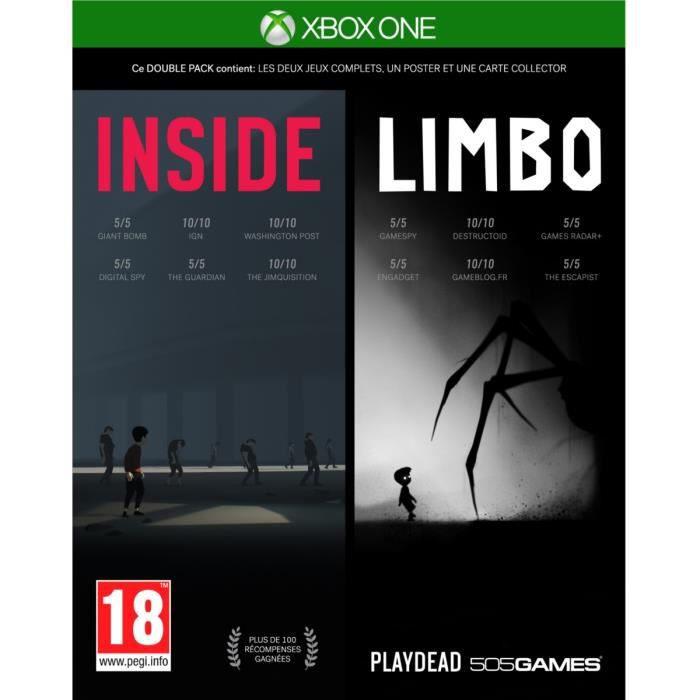 Inside/Limbo Double Pack pour Xbox One