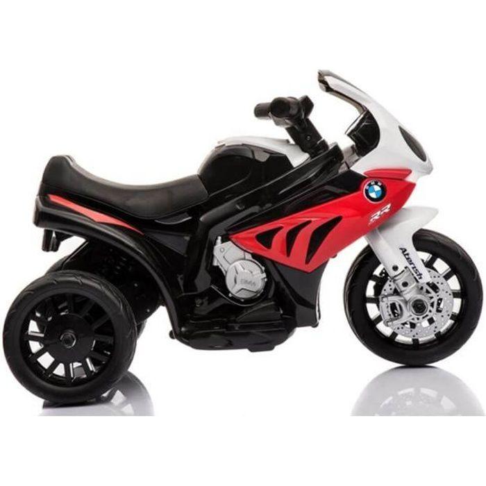 Moto avec licence BMW 6v - Moto électrique enfants Rouge - Moto électique pour enfant avec batterie