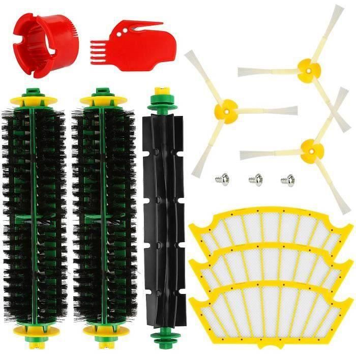 série 500 Remplacez votre aspirateur Accessoires pour iRobot série Roomba Pièces de rechange pour filtre à brosse My16090