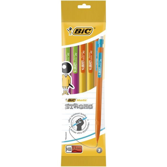 BIC Porte-mines BIC matic strong 0,9 hb x5