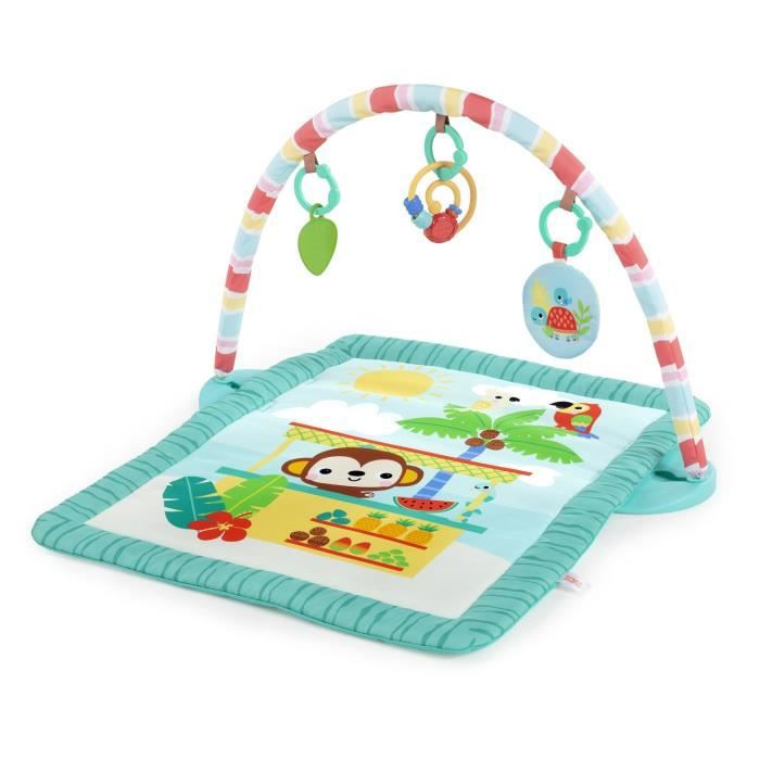 BRIGHT STARTS Tapis d'éveil Tiki Toy Bar™ Activity Gym