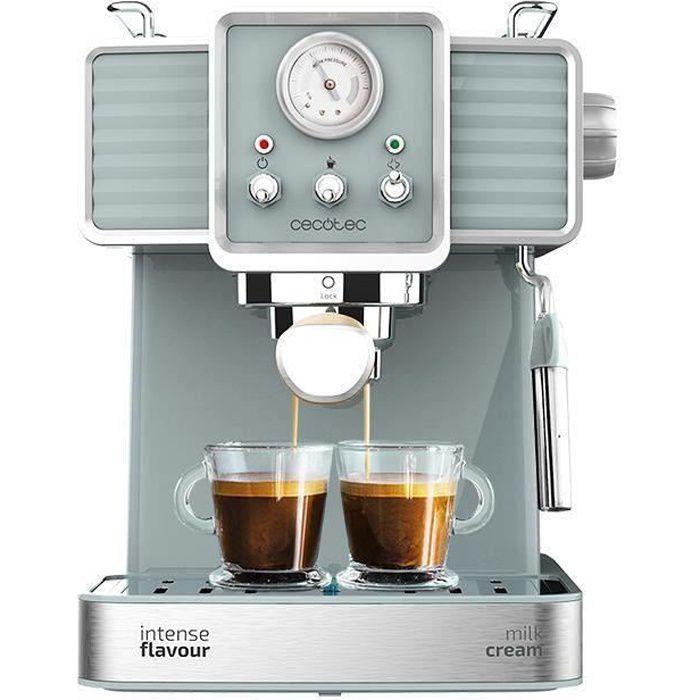 Cecotec Machine à Café Express Power Expresso 20 Tradizzionale pour expressos et capuccinos