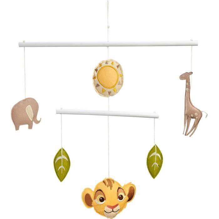 Garniture Berceau DISNEY Le Roi Lion Plafond mobile NC1XO