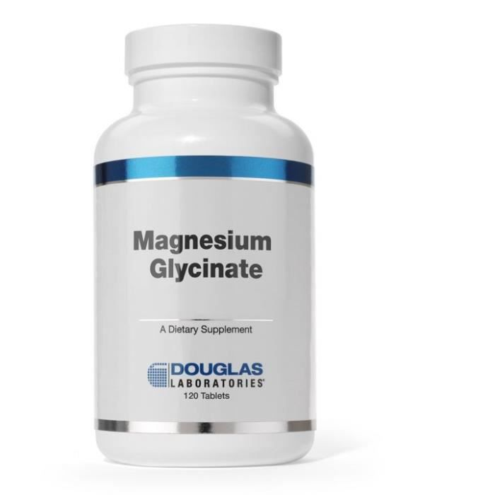 Magnésium Glycinate (120 comprimés) - Douglas Laboratories
