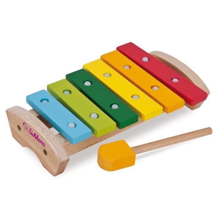 Eichhorn xylophone en bois pour les enfants