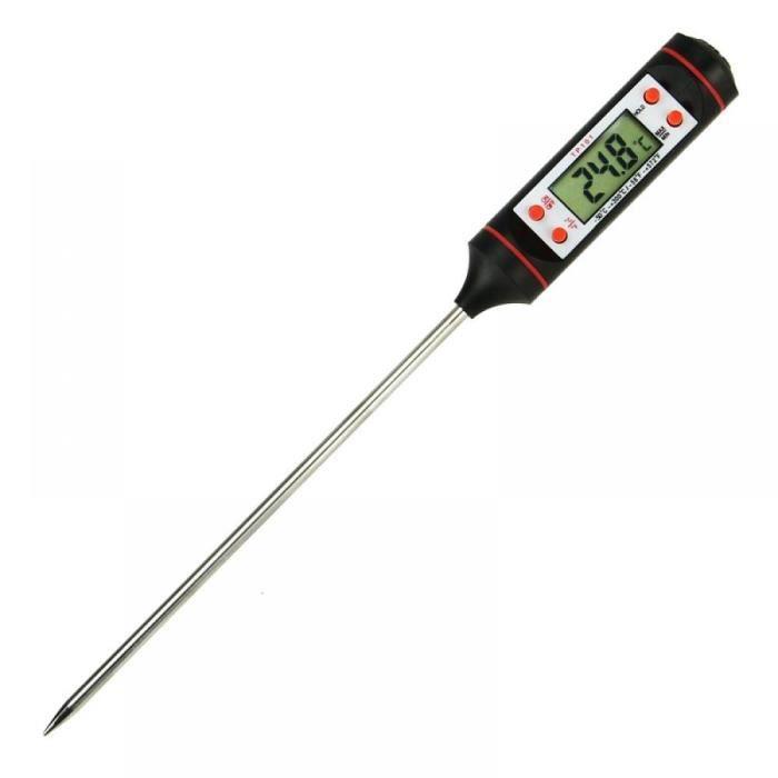 ENERGY01 - Thermomètre de cuisson - liquides à sonde LCD numérique