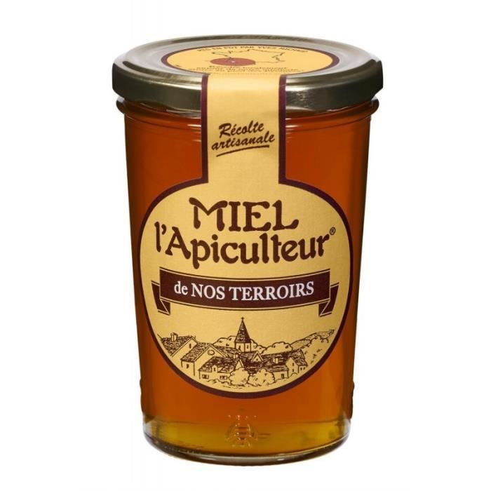 Miel l'Apiculteur de Nos Terroirs 500g (lot de 3)