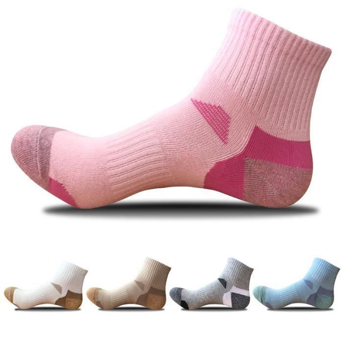 Chaussettes Pour Femme Chaussettes De Sport Chaussettes En Coton Chaussettes D'alpinisme En Plein Air Chaussettes De Basket