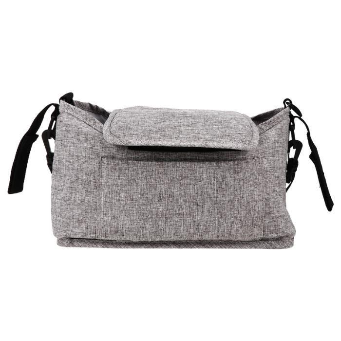 1 PC de sac de sangle Berceau Sac de rangement Poussette Organisateur Streinture de pack promenade - voyage promenade-voyage