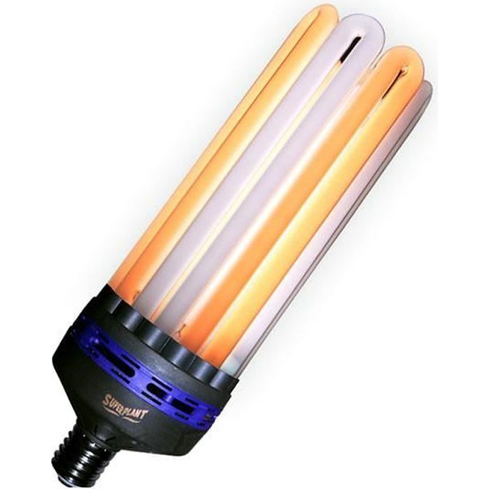 Superplant - Ampoule CFL 250W Dual/Mixte 2100K°+6400K° V2