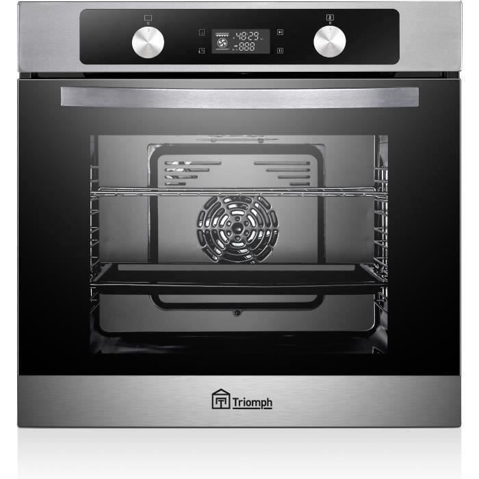 TRIOMPH TAF71MPX - Four multifonction pyrolyse71 litres - INOX