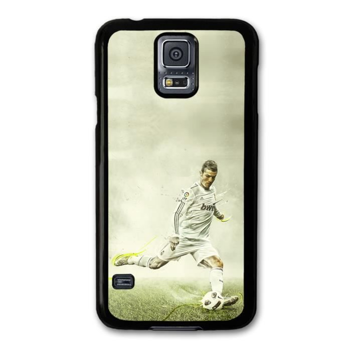 Cristiano ronaldo shooting real madrid cf football coque pour samsung galaxy s5 achat housse - Housse de couette cristiano ronaldo ...