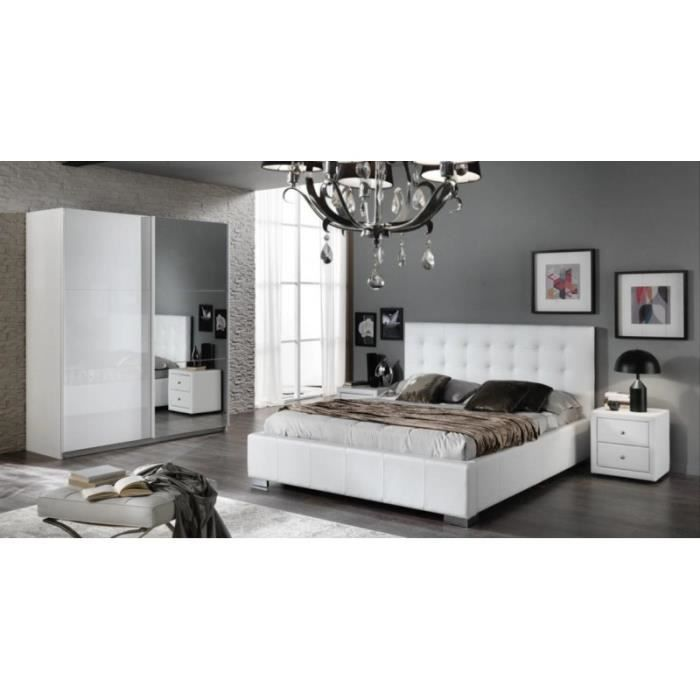 chambre complete capitonne achat vente chambre complete capitonne pas cher cdiscount. Black Bedroom Furniture Sets. Home Design Ideas