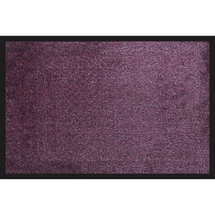 paillasson entr e microfibre violet 40x60cm achat. Black Bedroom Furniture Sets. Home Design Ideas