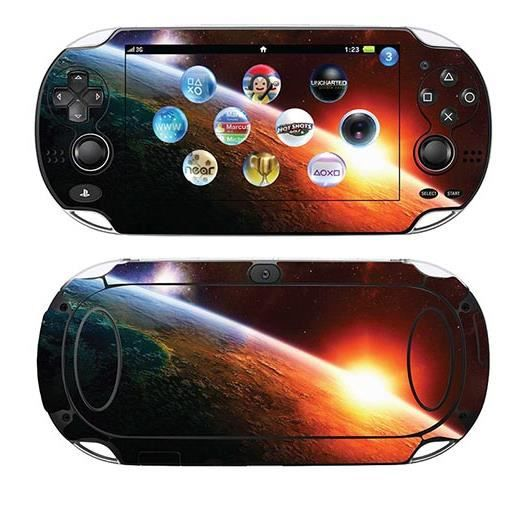 skin stickers pour sony ps vita sticker lever de soleil. Black Bedroom Furniture Sets. Home Design Ideas