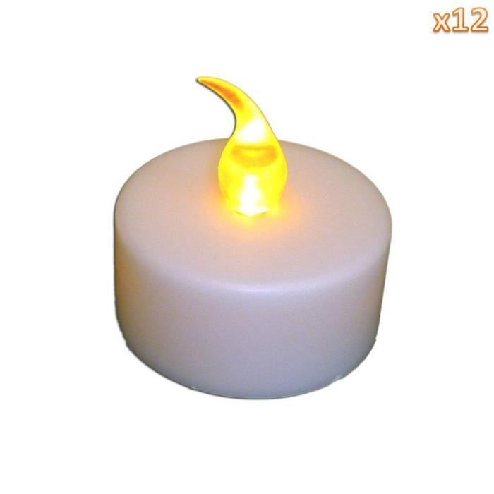 /Ø 60/mm maxi /à la lumi/ère 12/x Bougie chauffe-plat dur/ée de combustion 8/heures env