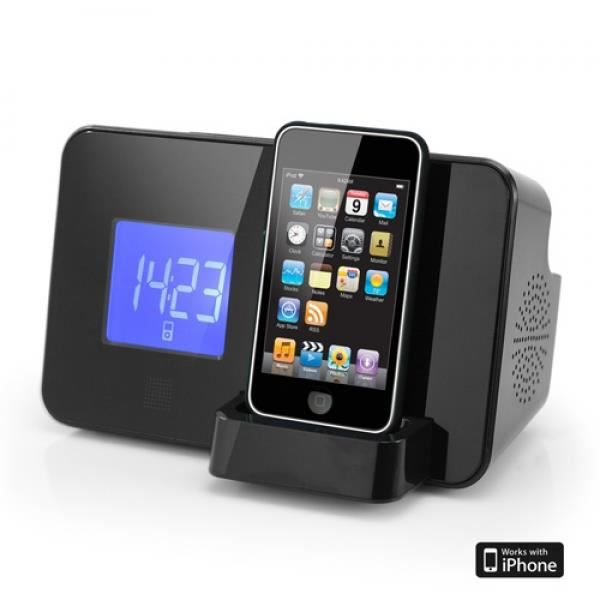 station d 39 accueil radio r veil pour ipod iphone au. Black Bedroom Furniture Sets. Home Design Ideas