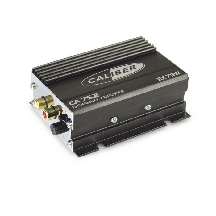 AMPLIFICATEUR AUTO Caliber CA75.2 Amplificateur à 2 canaux