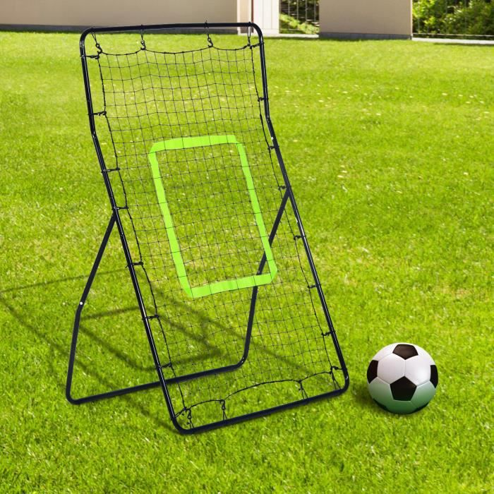 MINI-CAGE DE FOOTBALL Filet de rebond de football 90L x 80l x 140H cm ci