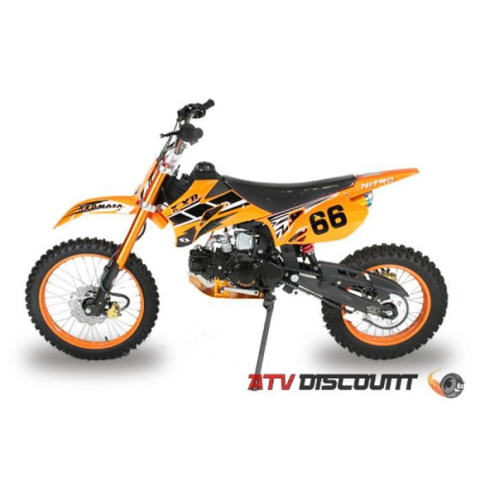 dirt bike 125cc kxd en grandes roues 17 14 achat vente. Black Bedroom Furniture Sets. Home Design Ideas