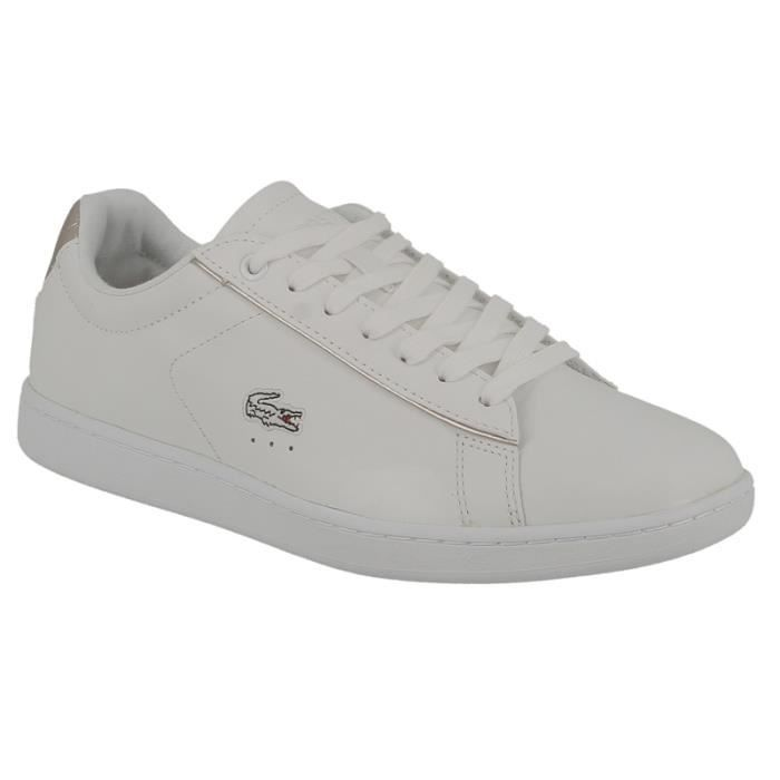 Chaussure Lacoste Rose Pale