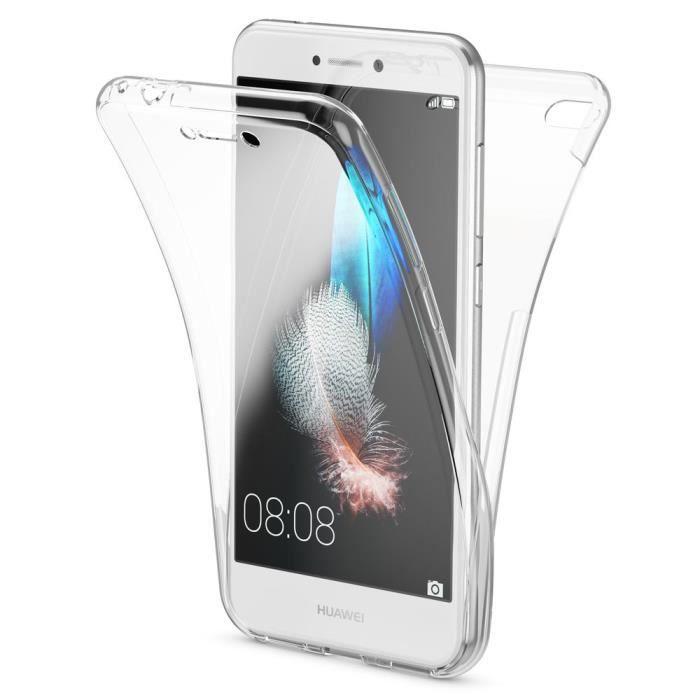 Coque Huawei P8 Lite (2017) 360° de intégrale 2in1