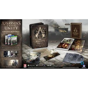 JEU XBOX ONE Assassin's Creed Unity Bastille Edition XBOX One