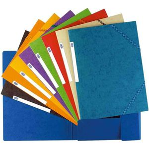 ELBA Chemise Top file - A4 - Couleurs assorties