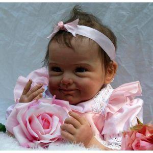 POUPÉE DiaoBao® Réaliste bébé reborn fille poupée enracin