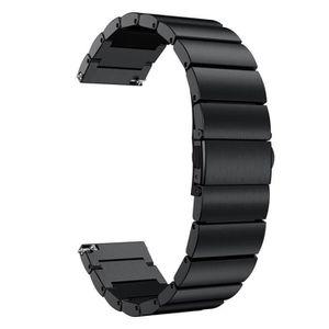 Generic Fitbit Alta HR Bracelet de Remplacement pour Bracelet s/écuris/é avec Boucle de Maintien pour Bracelet Fitness Noir S