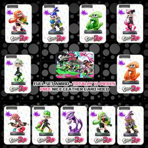 CARTE A COLLECTIONNER 11 Full Set NFC PVC Tag Card Splatoon2 Inkling Squ